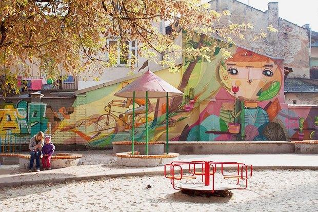 Фото дня: Реконструированная детская площадка во Львове. Зображення № 1.