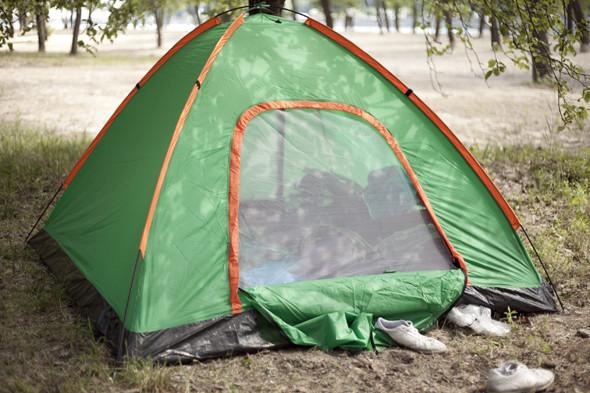 Camp Sweden: Шведские болельщики в кемпинге на Трухановом острове. Зображення № 6.
