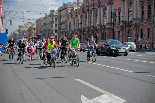 Фоторепортаж: Велопробег «За велогород». Изображение № 9.