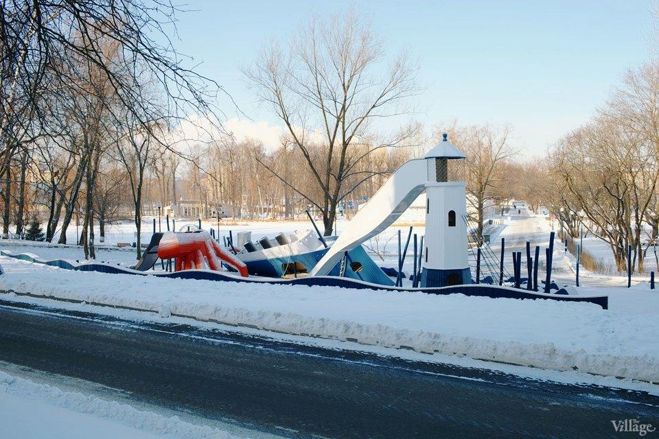 Фоторепортаж: Детская площадка Monstrum впарке Горького. Изображение № 28.