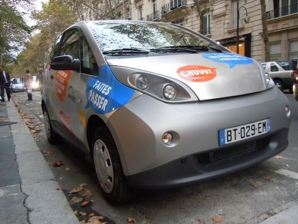 Иностранный опыт: Прокат электромобилей в Париже. Изображение № 12.
