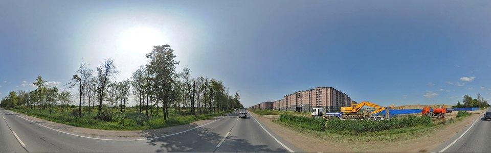 Строительство большого жилого комплекса «Славянка» на Колпинском шоссе,  2013 год. Изображение № 14.