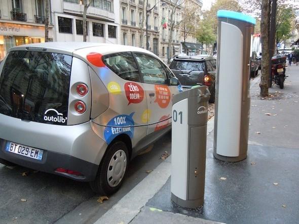 Иностранный опыт: Прокат электромобилей в Париже. Изображение № 18.