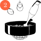 Рецепты шефов: Мороженое счаем матча, с малиной исмоцареллой и базиликом. Изображение № 5.