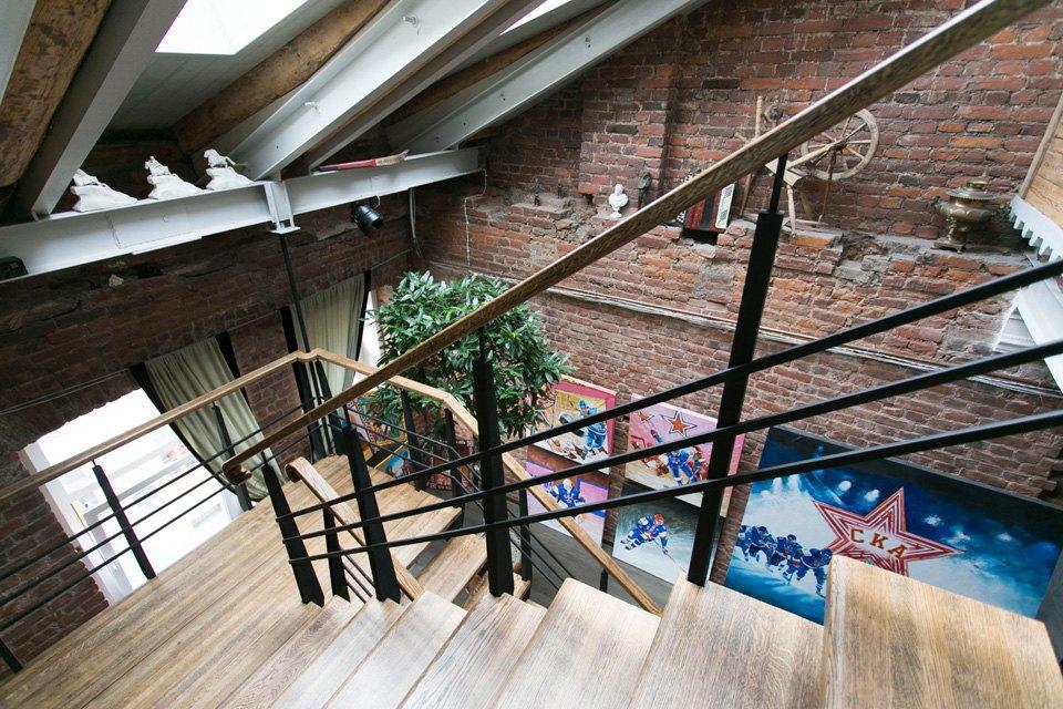 Квартира художника смансардой. Изображение № 23.