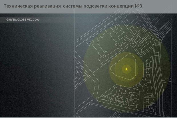 На ночь глядя: 12 проектов подсветки Главного штаба. Изображение № 24.