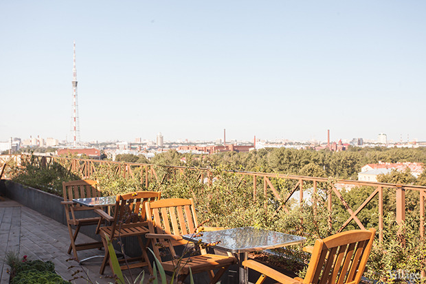 Новое место (Петербург): Sky Terrace. Изображение № 15.