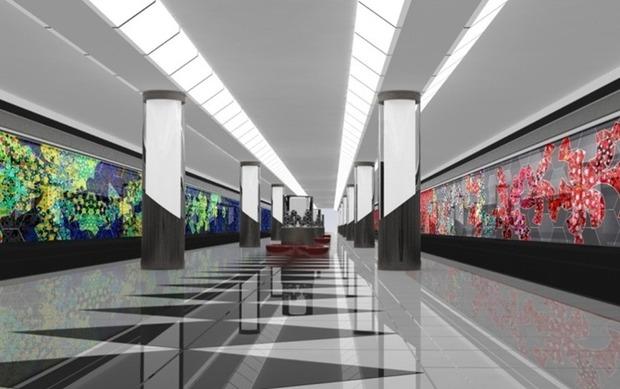 Станции метро предложили облицевать стеклом. Изображение №1.