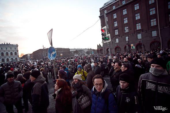 Фоторепортаж: Митинг 5 марта на Исаакиевской площади. Изображение № 27.