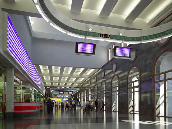 В плане: Реконструкция московских вокзалов. Изображение № 8.
