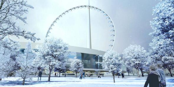 В Москве хотят построить самое высокое в мире колесо обозрения. Изображение № 1.