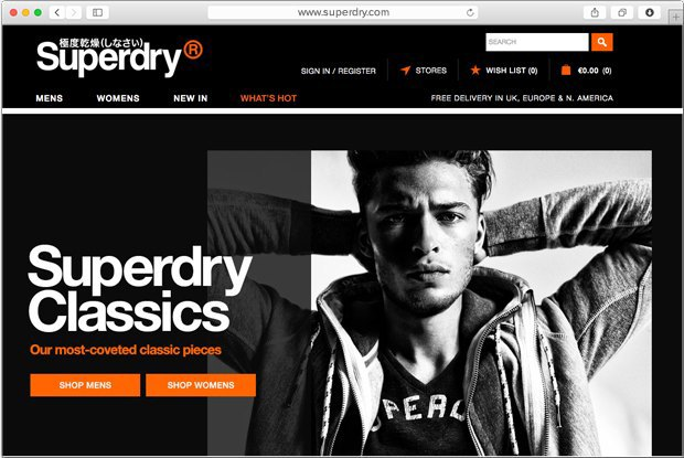 В Москве откроются два магазина английской марки одежды Superdry. Изображение № 1.