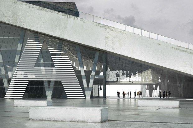 Три проекта нового здания ГЦСИ. Изображение № 12.