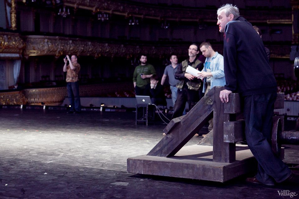 Фоторепортаж: Вторая сцена Мариинского театра изнутри. Изображение № 37.