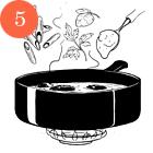 Рецепты шефов: Пенне ригате с мидиями и тыквой. Изображение №8.