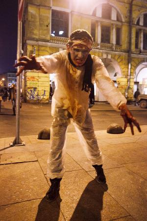 Люди в городе: Хеллоуин вПетербурге. Изображение № 14.