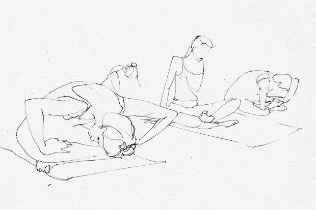 Клуб рисовальщиков: Йога. Изображение №10.