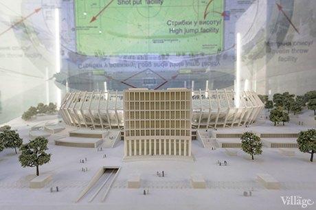 В «Олимпийском» начал работу музей истории стадиона. Зображення № 4.
