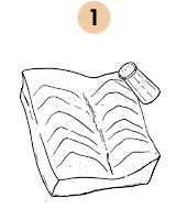 Рецепты шефов: Шашлык из сома на шпажке из розмарина. Изображение № 6.