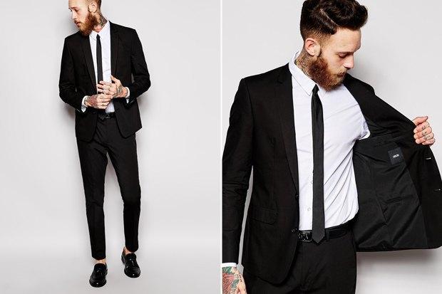 Где купить чёрный костюм: 9 вариантов от5 до45 тысяч рублей. Изображение № 3.