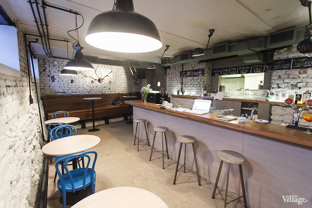 Новое место (Петербург): Кафе-бар «Чайки». Изображение № 2.