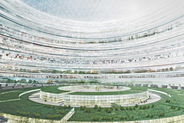 Иностранный опыт: 8 фантастических городских проектов. Изображение № 39.