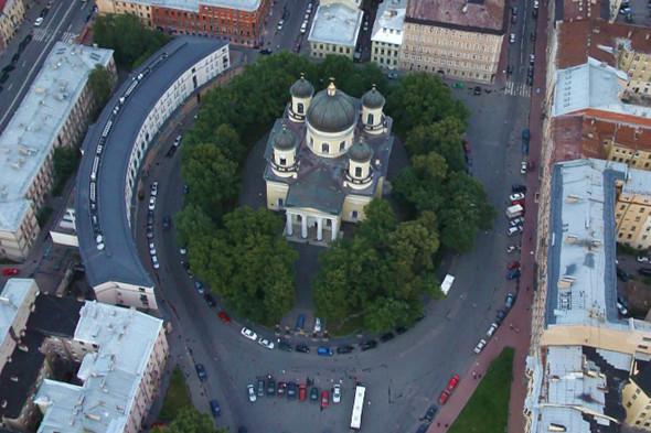 «Яндекс» снял панорамы Петербурга с воздуха. Изображение № 7.