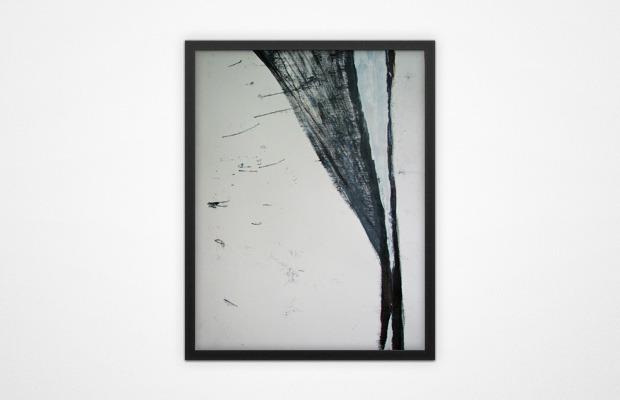 Из серии «Потерянный рай». Бумага. Смешанная техника. 2012 г. . Изображение № 2.