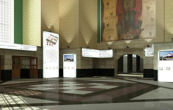 В плане: Реконструкция московских вокзалов. Изображение № 28.