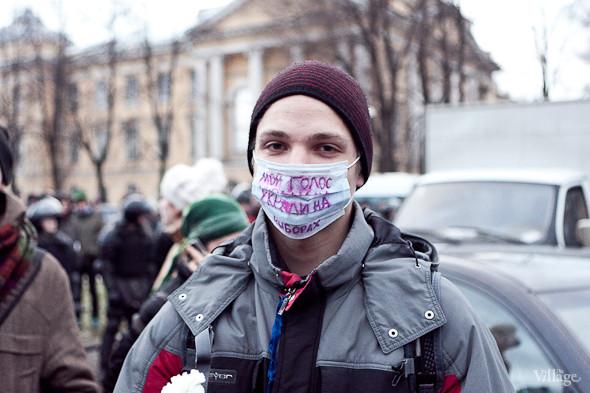 Фоторепортаж: Митинг против фальсификации выборов в Петербурге. Изображение № 29.