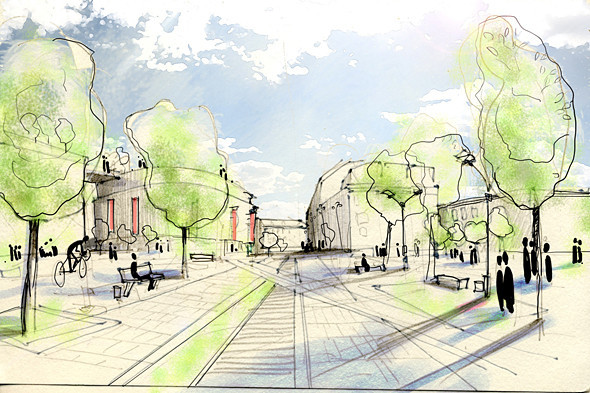 Перестройка: 4 студенческих проекта площади Восстания. Изображение № 26.
