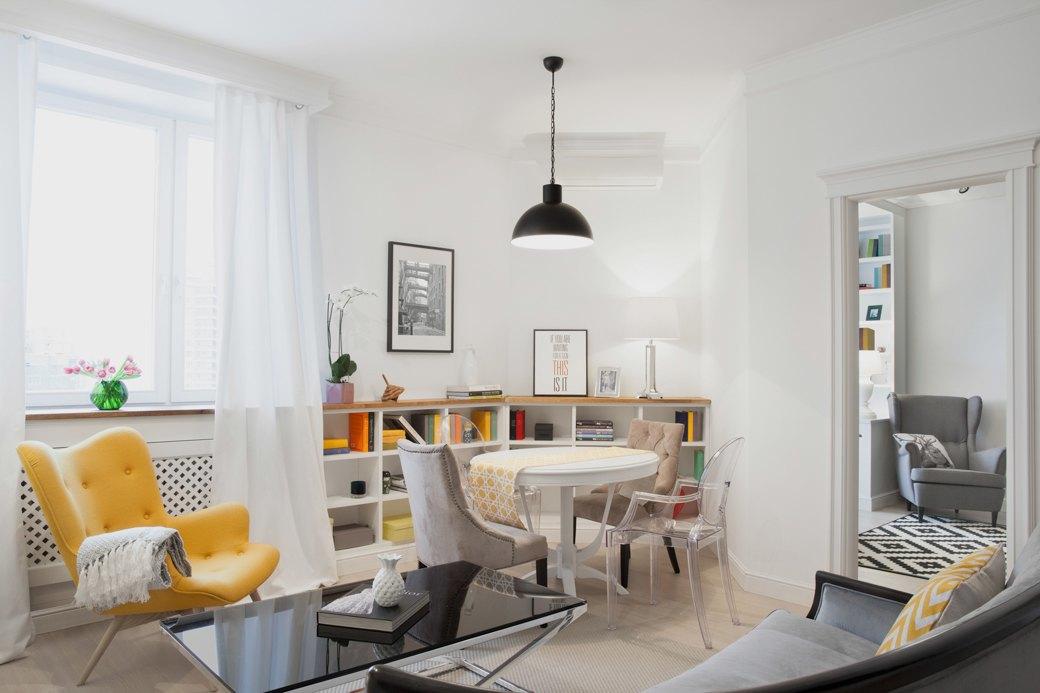 Квартира впослевоенном стиле для молодой семьи. Изображение № 1.