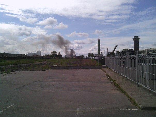 Утром горел корпус бывшего Варшавского вокзала. Изображение № 2.