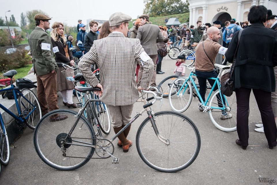 Second Time: В Киеве прошёл второй велокруиз в стиле ретро. Изображение № 7.