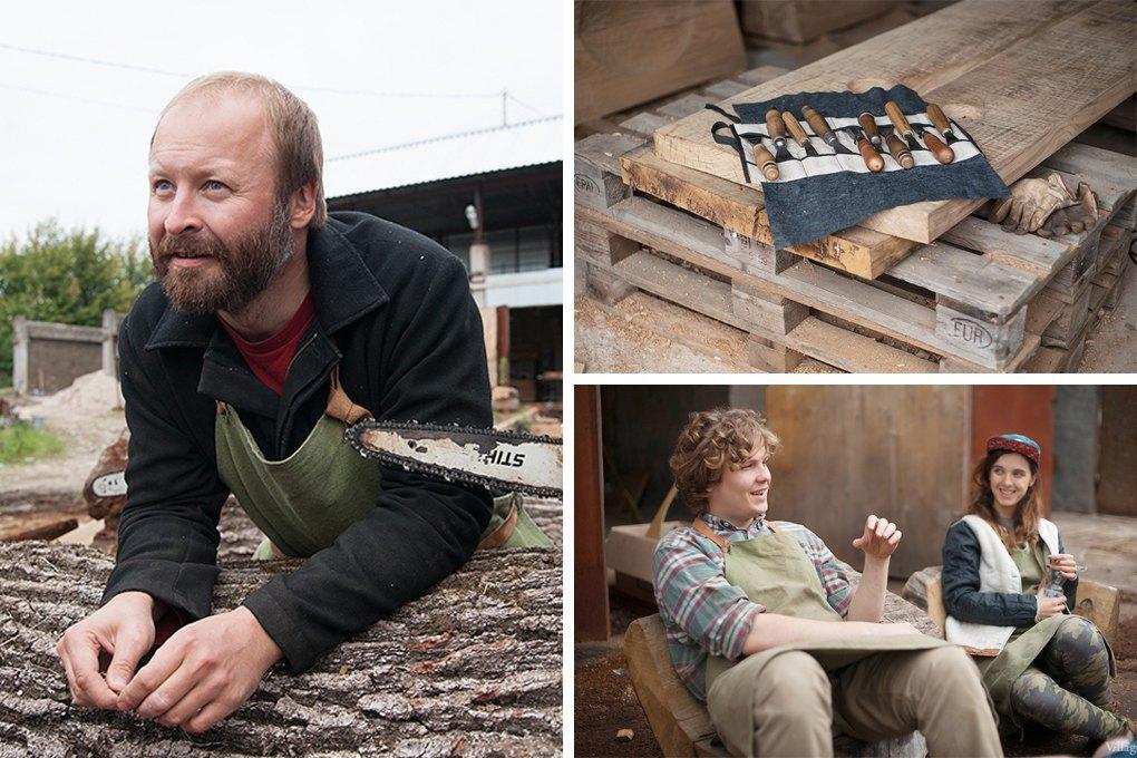 Denis Milovanov: Как бывшие клерки и столяр зарабатывают на мебели из дуба. Изображение № 3.
