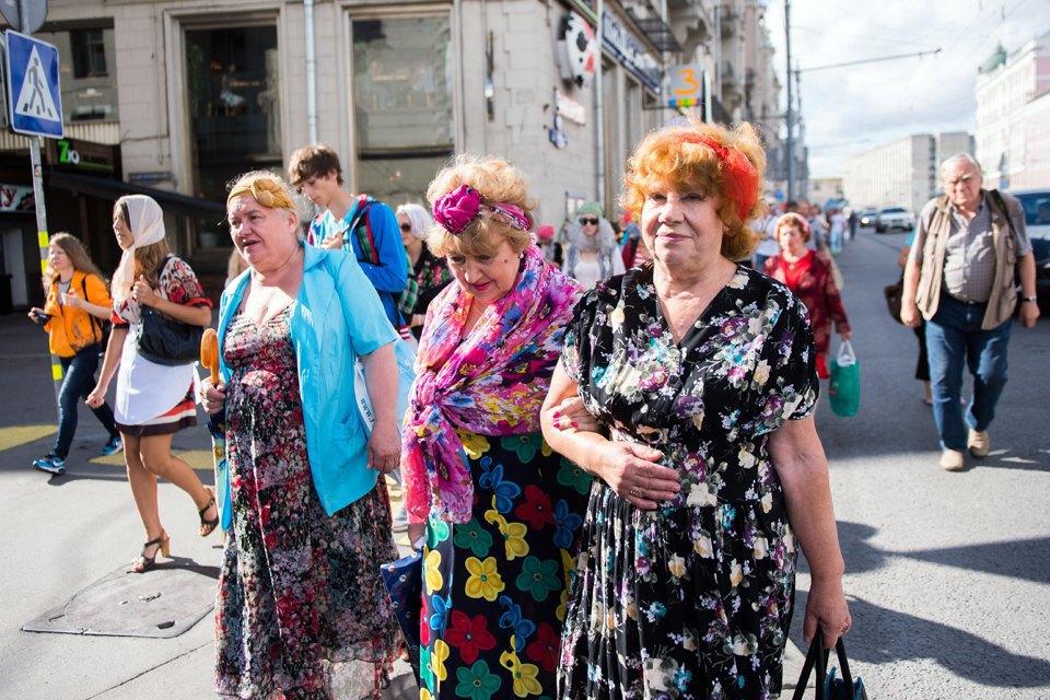 Шествие бабушек наТверской. Изображение № 10.