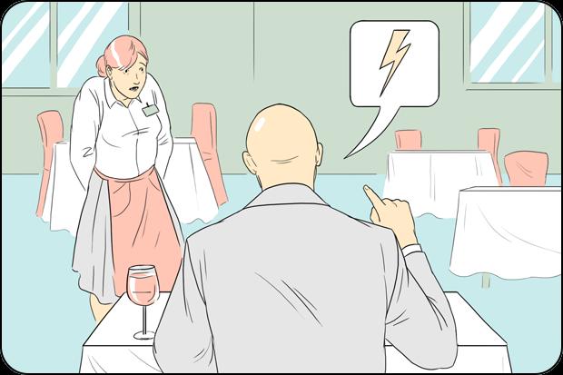 Правила поведения для посетителей кафе и ресторанов. Изображение № 3.