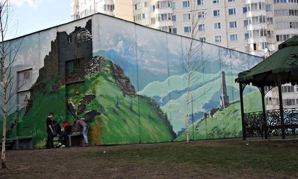 Юго-восток Москвы украсят граффити. Изображение № 4.