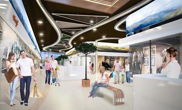 Пополнение: 6 новых торгово-развлекательных центров вКиеве. Изображение № 28.