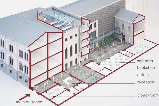 Проект недели: Как перестроят Европейский университет. Изображение № 9.