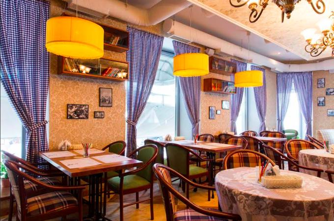 На Большой Дмитровке открылось кафе «Вареничная № 1». Изображение № 1.