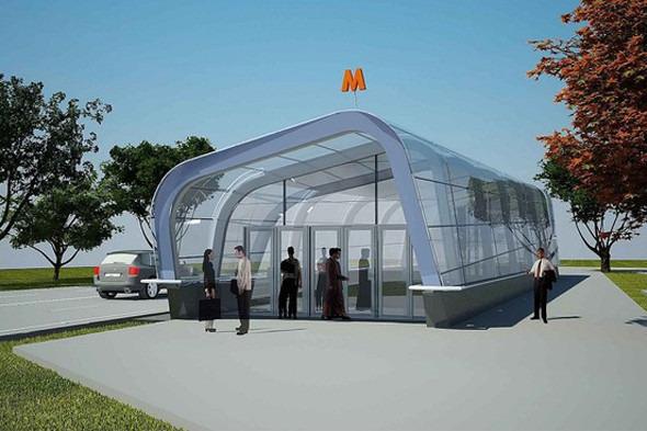 Мэрия показала новую станцию метро «Новокосино». Изображение №2.