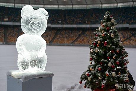 В «Олимпийском» откроют выставку ледяных скульптур. Зображення № 1.
