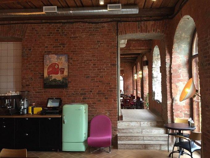Команда CoffeeRoom открыла ресторан Mickey&Monkeys науглу Гороховой иКазанской . Изображение № 3.