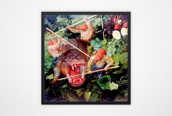 В Киеве пройдёт выставка чешского сюрреалиста Виктора Сафонкина. Зображення № 7.