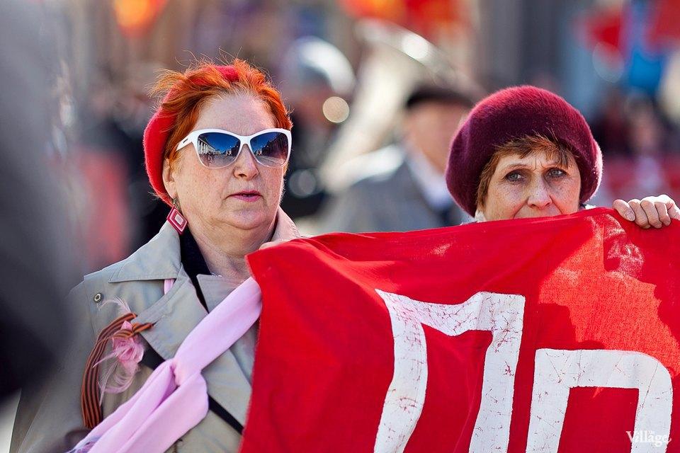 Фоторепортаж: Первомайская демонстрация. Изображение № 9.