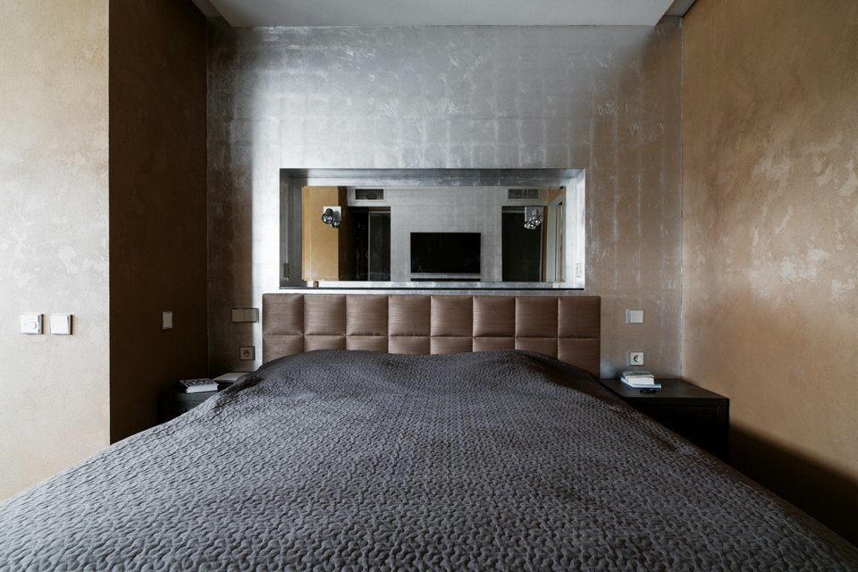 Трёхкомнатная квартира сэклектичным интерьером. Изображение № 28.