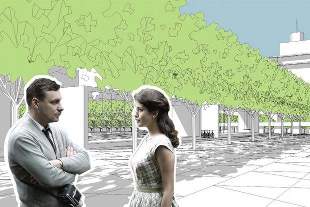 Как будет выглядеть Триумфальнаяплощадь: Три концепции финалистов. Изображение № 5.