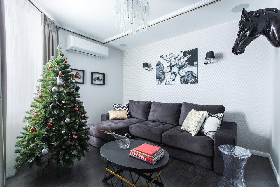 Трёхкомнатная квартира для большой семьи вВидном. Изображение № 7.