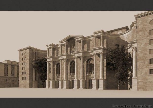 Проект квартала авторства «Архитектурной мастерской Максима Атаянца». Изображение № 2.